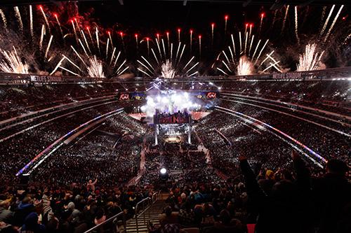 WWE年間最大の祭典レッスルマニ...